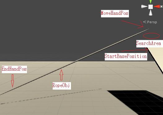 ロープシステムで使うゲームオブジェクトの画像
