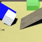 UnityのPhysic Materialを使って衝突や跳ね返りを設定する