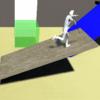 Unityでキャラクターが乗ったらシーソーする床を作成する