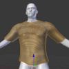 MakeHumanで使える服をblenderのアドオンMakeClothesで作成する