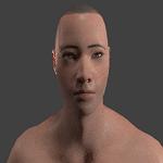 blenderのアドオンManuelBastioniLABを使って3Dモデルを作成