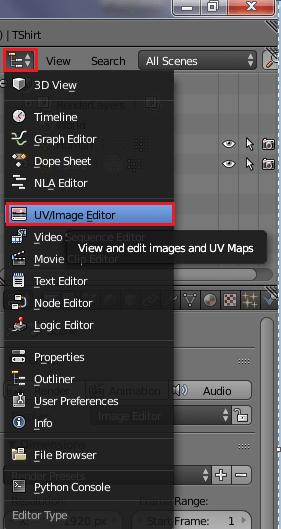 UVMapを表示する
