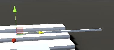 GameObjectの位置をSpearの原点に移動