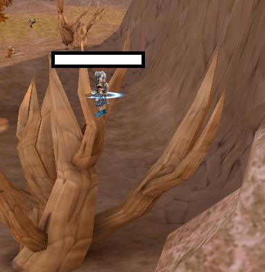 枯れ木に昇る