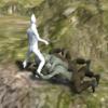 Unityのゲームでゾンビに足を捕まれそこから脱出する機能