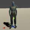 Unityでコライダ1つだけでダメージ箇所を特定する