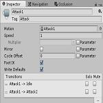 UnityのAnimatorの状態にタグを設定し条件を簡単にする