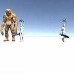 Unityでオンラインマルチプレイ対応5-プレイヤー名の表示と敵を攻撃した時の処理-