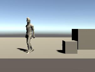 空のゲームオブジェクトの操作スクリプトで動かしたEthan