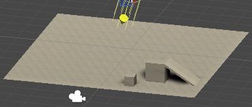 空のゲームオブジェクトを移動させる