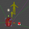 UnityのGizmosを使ってシーンビューで視覚的なデバッグの補助をする