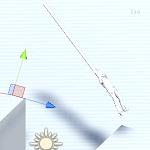 Unityでロープに捕まって崖から崖へ渡る機能の作成