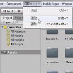 UnityのEditorを拡張して自前のメニュー項目を表示する