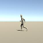 移動キーを素早く2回押して走るようにする機能の作成