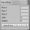 UnityのSnapSettingsで設定をしてみる