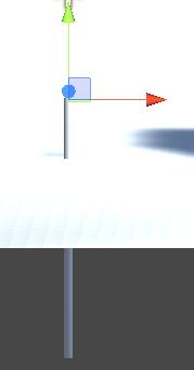 RopeBaseの位置をRopeの上に移動させる