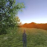 UnityでSun Shaftsを使い太陽光等の放射状の光、眩しさを表現する
