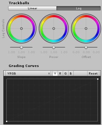 ColorGradingのインスペクタ2