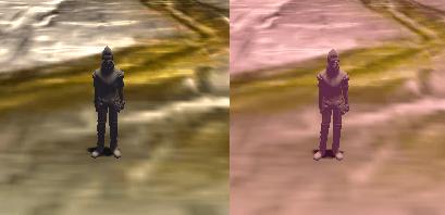 ColorGradingの比較