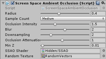 ScreenSpaceAmbientOcclusion