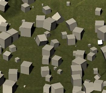 Cubeを設置した時のサンプル