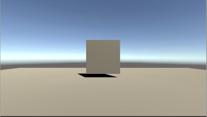 VideoPlayerのRender Modeを確認する為のゲームの舞台