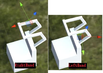 固定バーを持つ右手と左手の位置