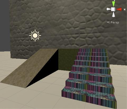 いくつかのゲームオブジェクトにマテリアルを設定