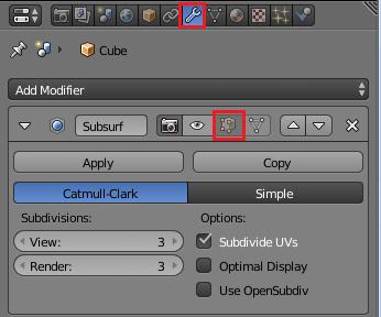 Editモードでモディファイアを無効化する