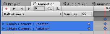 PositionとRotationのプロパティが追加された
