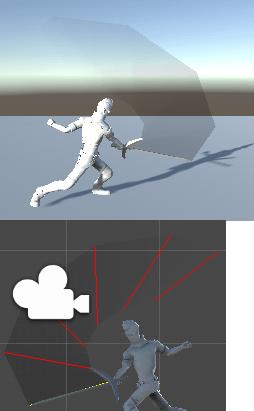 剣の軌跡のシェーダ―をパーティクルにした画像
