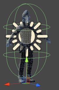 UnityNetworkキャラ用コライダのサイズ