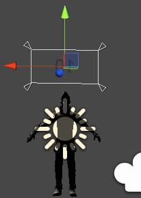 キャラクターHPの表示位置と大きさ