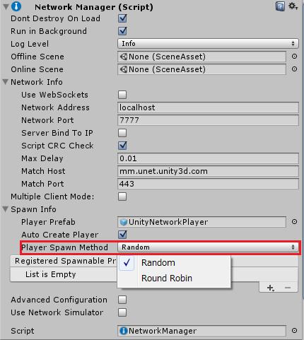 プレイヤーキャラクターの登場位置の選択法
