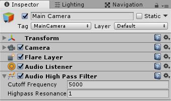 AudioHighPassFilter
