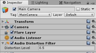 AudioDistortionFilter