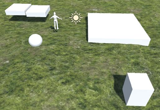 NavMesh Surfaceゲームオブジェクトの子要素のゲームオブジェクト達