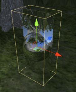 ReflectionProbeのBoxサイズ