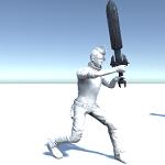 アイキャッチアニメーションの値を反映した連続攻撃