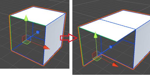 ExtrudeEdgesのサンプル
