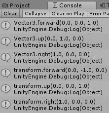 キャラクターを地面の向きにした時のVector3とTransformの違い