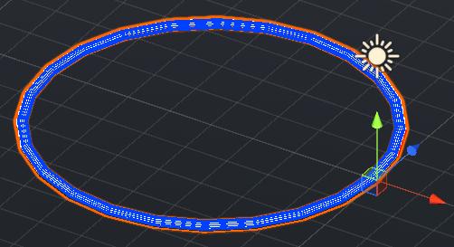 実際に作成した衝撃波のモデル