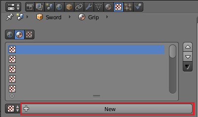 剣のGrip用のテクスチャの作成