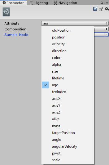 InitializeコンテキストのCurveのAdd系のインスペクタのAttribute