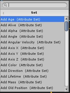Initializeコンテキストで設定出来るAttributeのSet系