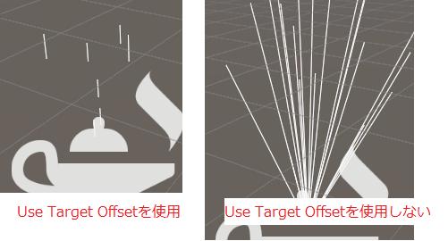 VisualEffectGraphのOutput Particle Lineの出力結果
