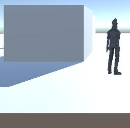 LightのCullingMaskでキャラクターを排除したサンプル