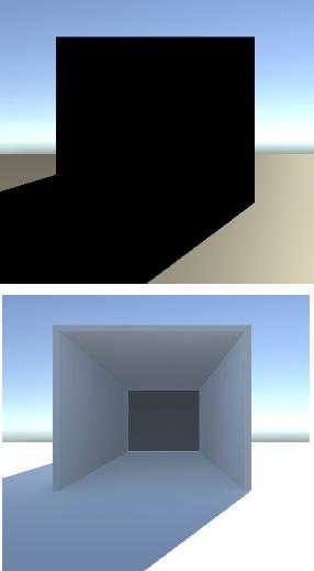 間接光が有効の時の画像