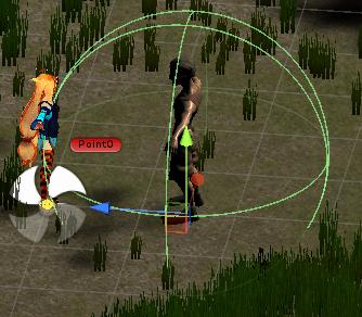ユニティちゃんRPGの村人の会話が出来る実際の範囲