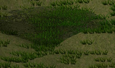 ユニティちゃんRPGのワールドマップに湖を作る